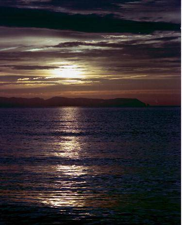 Spanien Costa-Brava Sonnenaufgang