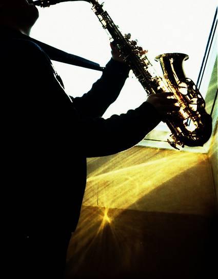 Musiker Saxophon