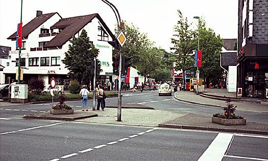 Innenstadt Hückeswagen. WDR 2 für eine Stadt