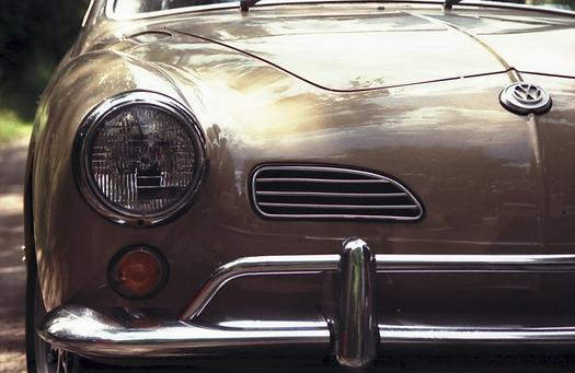 VW-Treffen am WDR 2 für eine Stadt. Karman-Ghia