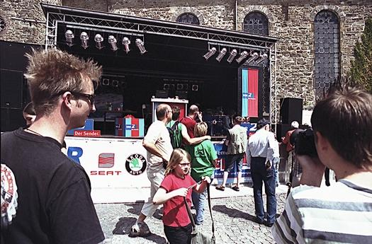 WDR 2 für eine Stadt. Schloss Hückeswagen