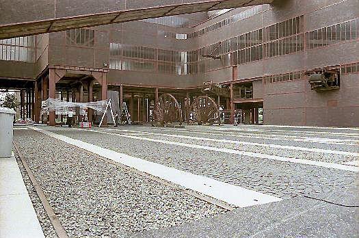 Areal Zeche Zollverein Innenhof