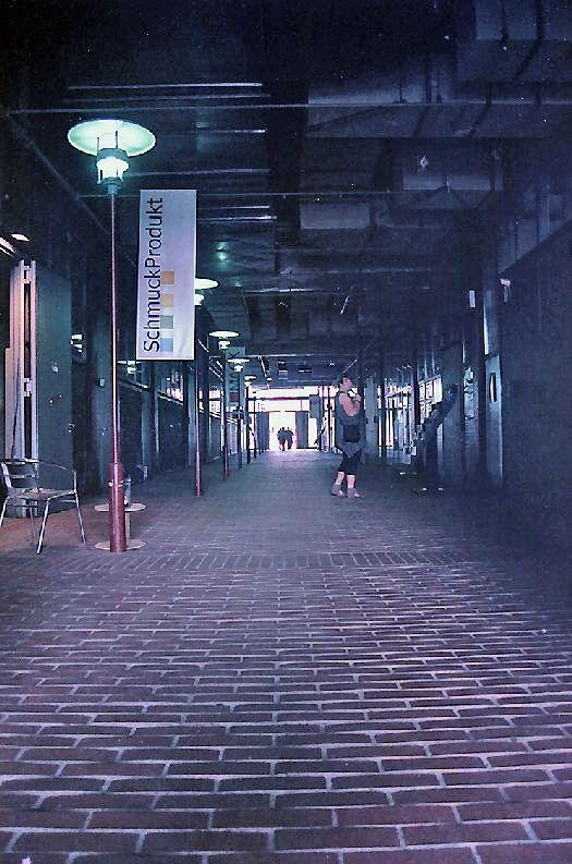 Einkaufen auf Zeche Zollverein
